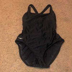 Speedo One Piece Racerback Swimsuit, Size 10